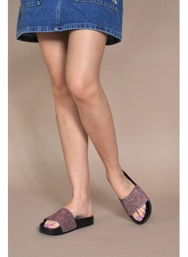 Vizon Ayakkabı Terlik Bordo